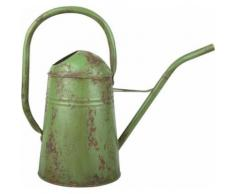 Esschert Design - Arrosoir vintage en acier galvanisé Vert - Matériel d'arrosage