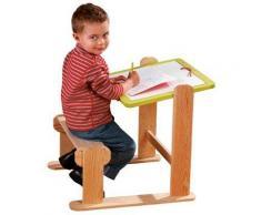 Bureau pupitre - Assise réglable - Bureaux enfant et accessoires