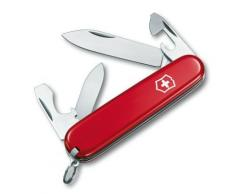 Couteau Suisse de Poche - 11 Pieces - Victorinox Recruit - 0.2503 - Rouge - Couteau