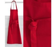 Tablier de cuisine rouge Pomme d'Amour - Rideaux et stores