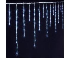 Rideau lumineux extérieur 900 LED blanc froid - Dim : L.1500 x l.0,5 x H.36 cm -PEGANE- - Objet à poser