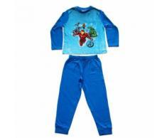 Pyjama Avengers taille 7 ans manche longue pantalon garçon - Range pyjama