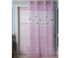 Voilage enfant Sea - rose - Dimensions : 140x260cm - Rideaux et stores