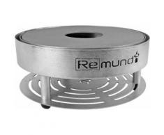 Remundi - Barbecue brasero de table en acier Pirus - Cuisiner en extérieur