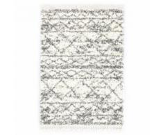 vidaXL Tapis berbère PP Beige et sable 120x170 cm - Tapis et paillasson