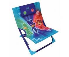 FUN HOUSE 712889 PYJAMASQUES Chaise - Fauteuil de Plage Pliable pour Enfant - Matériels de camping et randonnée