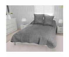 Couvre-lit Arabesque 260x240 cm 2 taies d'oreillers - Equipement du lit