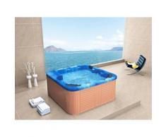 Whirlpool - spa 6 places - acrylique haute qualité bleu - Sanremo - Jacuzzi et sauna