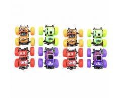 8Pcs Enfants Traction Intégrale Hors Route Simulation Du Véhicule Modèle Jouet D'Auto pour Bébé Multicolore PT148 - Jouet multimédia