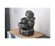 Fontaine intérieur nature jarre cascades Hinato Jin - Relaxation et massage