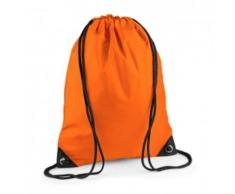 Sac à dos à bretelles - gym - linge sale - chaussures - BG10 - orange - Sac à dos bandoullière
