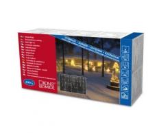 KONSTSMIDE 2725-002 RIDEAU FRISE LUMINEUSE 200 LAMPES CLAIRES + CÂBLE BLANC 24 V - Appliques et spots