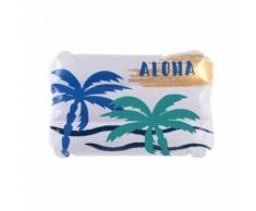 Coussin de plage gonflable Summer Aloha - Blanc - Linge de bain