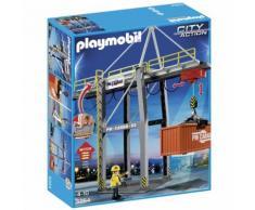 Playmobil 5254 Portique électrique à conteneurs - Playmobil