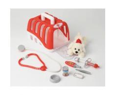 Set vétérinaire avec chien, cage et accessoires Klein - Panoplie du docteur