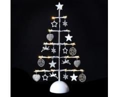 Décoration de Noël lumineuse Sapin - Métal - Objet à poser