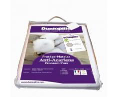Protège Matelas Anti-acariens Proneem Pure - 160/200 - DUNLOPILLO - Linge de lit