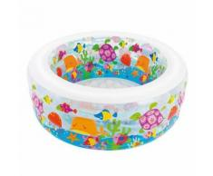 Piscine D152x56cm barrière de corail fond gonflable - Accessoires piscines, spa et jacuzzis