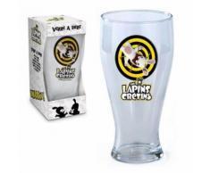 Verre A Biere Lapins Cretins 25 Cl 18 X 7 Cm Vaisselle - Autres