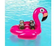 Porte-canettes Gonflable Flamenco (4 Canettes) - Equipements de piscine