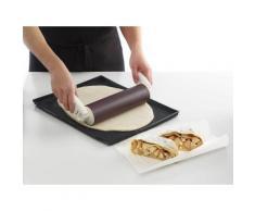 Lékué rouleau à pâtisserie silicone platine 23 cm marron tools - Ustensile de cuisine