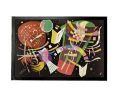 Vassily Kandinsky Paillasson Essuie-Pieds - Composition X, 1939 (40x60 cm) - Tapis et paillasson