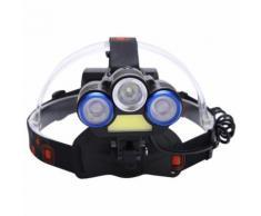 Lampe Frontale Bandeau Réglable Lampe-torche Mains Libres Lumière Extérieure Principale de nuit LED - Running