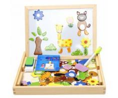 Jouets En Bois Éducatifs Pour Enfants Jeux Puzzles Enfants En Bas Âge Tableau Magnétique Dessin MK2615 - Puzzle enfant