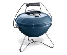Barbecue à charbon 37cm slate blue Weber - 1126804 - Barbecue
