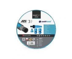 Cellfast - Smart Set - Tuyau D'Arrosage 20 M - 1/2 - 4 Buses Cf13-190 - Accessoires d'arrosage