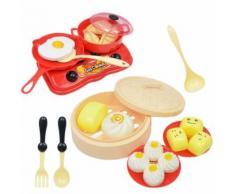 Cuisine Jouets La Cuisson Des Aliments Jeux D'Imitation En Bois Rôle Éducatif Kid Enfants Cadeau BT1018 - Autre jeu d'imitation