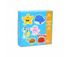 Bébé Bébé Jouets éducation Enfants Carte Assortie Jigsaw Puzzle D'apprentissage cognitif Multicolore WEN108 - Jouet multimédia