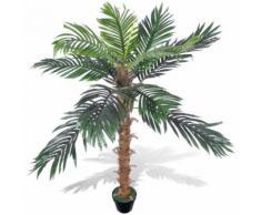 Palmier Artificiel Plastique avec Pot 140 cm Modèle 1 - Objet à poser