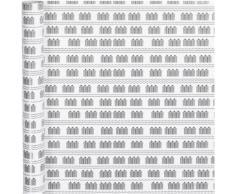 Vivi Gade papier d'emballage sauna 400 x 70 cm blanc - Article de fête