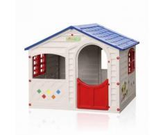 Maisonnette en plastique pour enfants jardin extérieurs Grand Soleil CASA MIA - Maisons de jardin
