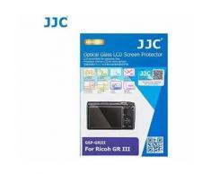 JJC Film de Protection d'écran en Verre trempé pour Ricoh GR III GR3 - Anti-Traces de Doigts - Résistant à l'eau - Ultra-Mince - Dureté 9H - Protection d'écran LCD - Autres