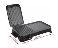Adler Grill Electrique Noir et Gris, Multicolore, Taille Unique - Grillade et barbecue