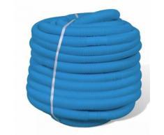 Tuyaux pour piscine Longeur: 5m Ø 32 mm peut être sectionné tous les 1 m Bleu - Piscine