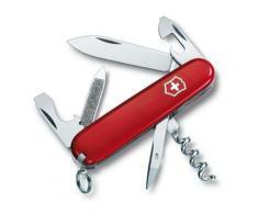 Couteau Suisse de Poche - 17 Pieces - Victorinox Sportsman - 0.3803 - Rouge - Couteau