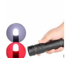 Nouvelle extérieure d'urgence SOS Feu rouge clignotant Signal d'avertissement lampe de poche lumière Kiliaadk357 - Torches
