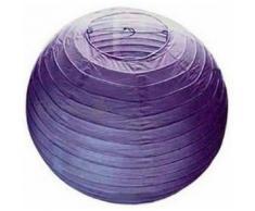 Lampion abat jour violet 40 cm - Article de fête