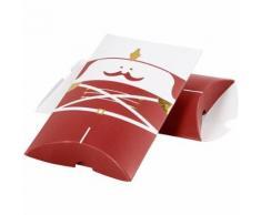Vivi Gade coffret cadeau casse-noix 14,9 x 9,4 x 2,5 cm rouge 3 pièces - Article de fête