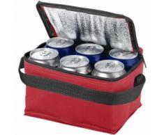 Bullet Spectrum - Sac isotherme pour 6 canettes (Taille unique) (Rouge) - UTPF113 - Matériels de camping et randonnée