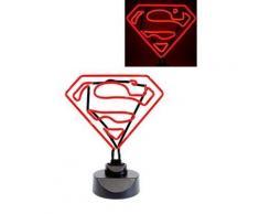 DC Comics - Lampe Neon Superman 23 x 30 cm - Autres figurines et répliques