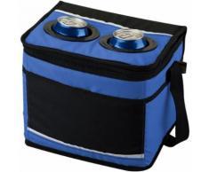 California Innovations - Sac isotherme pour canettes - Mixte (Lot de 2) (25,4 x 19 x 21,6 cm) (Bleu / noir) - UTPF2381 - Matériels de camping et randonnée