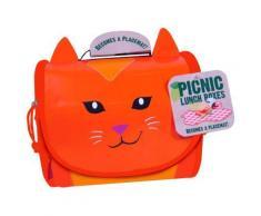 Boîte à goûter picnic lunch box : carmen la petite chatte sablon - Sac shopping, sac loisirs