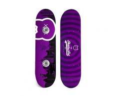 Patère skateboard murale - CrazyCat- Porte manteaux Skate Art - Décoration murale