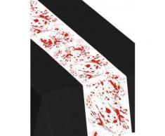 Chemin de table taches de sang (5 m) Horreur - Article de fête