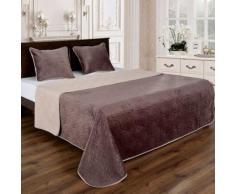 Couvre lit florale reversible - Linge de lit