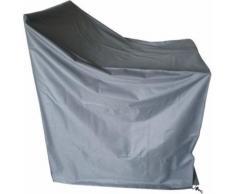 Proloisirs - Housse de protection étanche pour chaises empilables - Accessoires mobilier de jardin